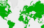 The World Network of Biosphere Reserves Map